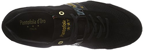Pantofola d'Oro Ascoli Techknit, Baskets Basses homme Noir - Noir