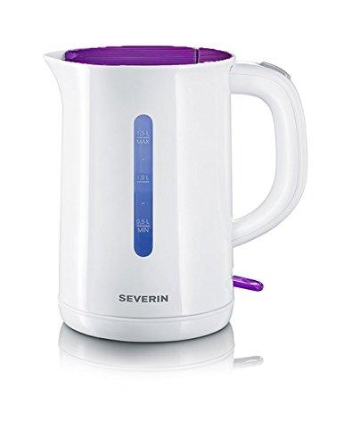 Severin WK 3412.115 Wasserkocher (2200 Watt, 1,5 Liter) weiß