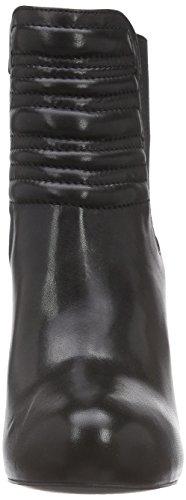 Mentor Mentor Ankle Chelsea Boot, Stivaletti a gamba corta mod. Chelsea, imbottitura leggera donna Nero (Nero (Black Leather))
