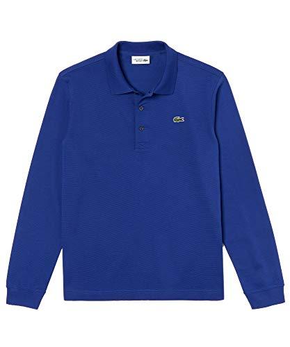 Langarm-polo-shirt (Lacoste Herren Polo Shirt Langarm L1330,Männer Polo-Hemd,3 Knopf,Regular Fit,Ocean(S2P),XXX-Large (8))