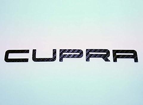 Arriere Seat Ibiza - Effet Fibre De Carbone Noir CUPRA Hayon