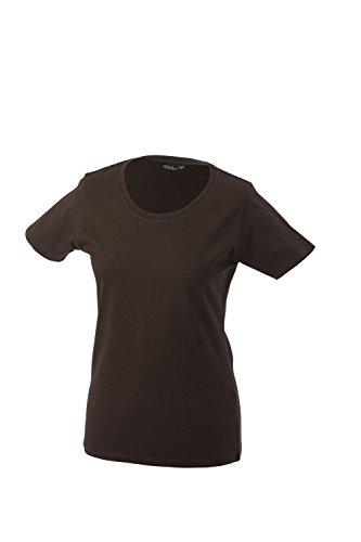 James & Nicholson Damen T-Shirt Braun