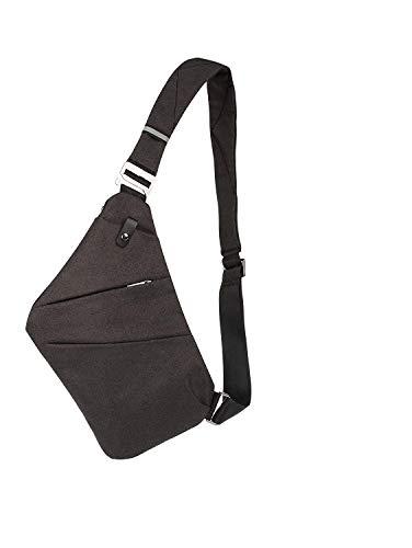 KALUNBS Packable Shoulder Backpack Sling Chest Crossbody Bag Cover Pack Rucksack for Bicycle Sport Hiking Travel Camping Bookbag Men Women
