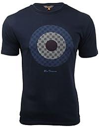 Ben Sherman - T-shirt - Uni - Manches Courtes - Homme bleu bleu Taille Unique