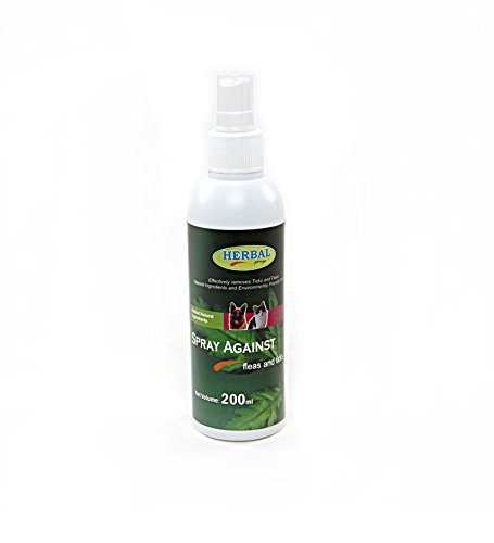 Robust Herbal Spray Against Fleas and Ticks, 200 ml