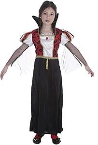 Creaciones Llopis Disfraz Infantil Vampira GÓTICA T-S (3 A 6 AÑOS), Multicolor (83761