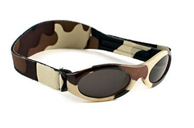 Baby Banz Adventure Sunglasses (Brown Camo, 0-2 Years)