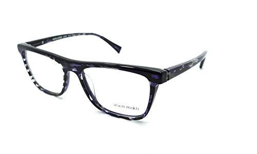 686adce5c35 Alain Mikli - Montura de gafas - para hombre Multicolor Lastra Zigrinata  Nero Con Sfumature Violet