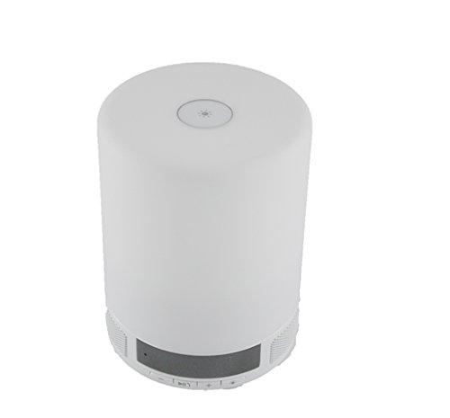 Mini Bunte Lichter Wecker Bluetooth Redner Licht Mit Uhranzeige Bluetooth - Lichtschalter Single