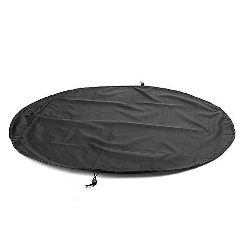 GZQ Surfing Neoprenanzug Wickelunterlage Tasche Wasserdicht Taucheranzug Tragetasche für Schwimmen und Outdoor, Schwarz, 130 cm / 510 inch