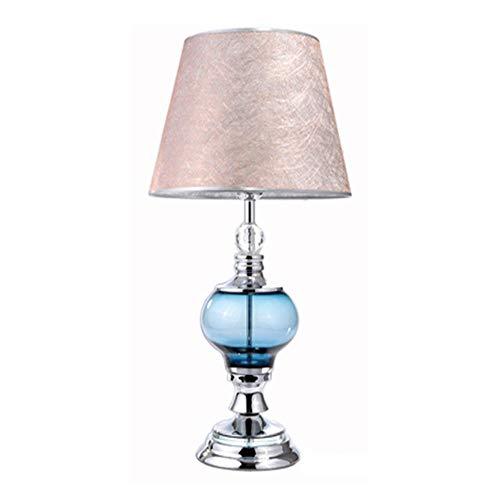 FACF Nachttischlampe Kristall lampenständer, kristall licht ist Edler, extrem komfortable weiche lichtempfindlichkeit, geeignet für Wohnzimmer, Schlafzimmer, arbeitszimmer, esstisch, etc.