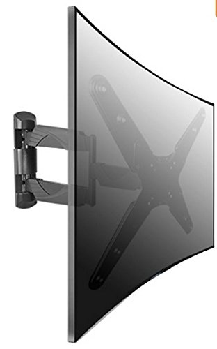 """Curved tv 32 to 55 Tilt TV LCD LED Monitor Wall Mount Stand 22 26 32 37 40 42 46 50 52 """" Zipp"""