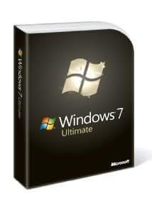 Microsoft Windows 7 Ultimate, Full Version (PC DVD)