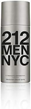 Carolina Herrera 212 NYC Men Deodorant Spray, 150ml