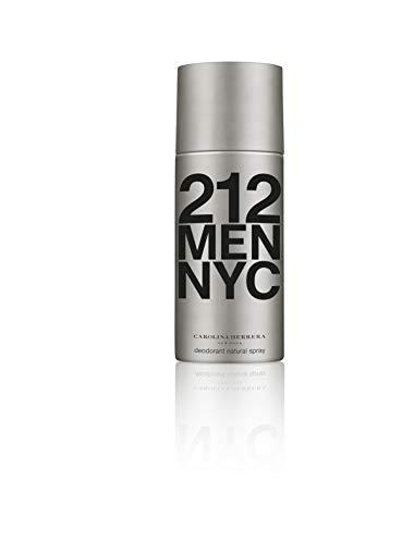 Carolina Herrera homme, 212 Men NYC Deodorant Natural Spray, 150 g (212-spray-männer)