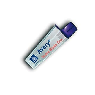 Abbrechklinge 30 grad, Spare Blades Box von Avery inkl. 15 Ersatzklingen 30° grad , Sammelbehälter für agbebrochene/gebrauchte Klinge