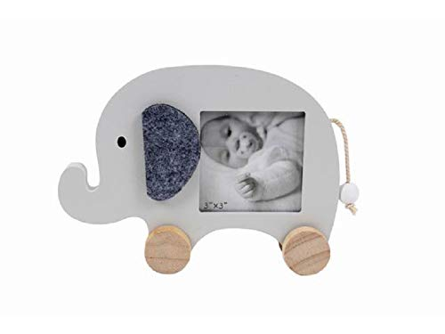 Osd linea casa - cornice nascita porta foto 13x18 elefantino con ruote