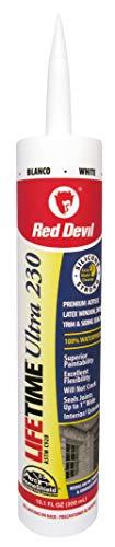 Diable Rouge 0770 à vie ultra Premium et élastomère Acrylique Mastic en latex, 0770