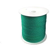4mm Flechtleine-Polypropylenseil - grün - 100m - Rolle