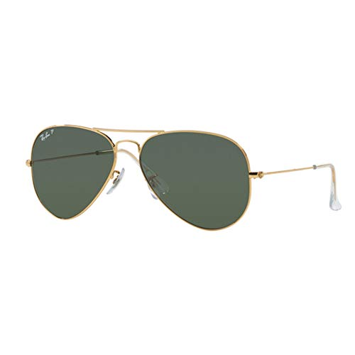 Ray-Ban , Unica, gold and dark green