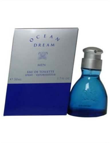Ocean Dream, Eau de Toilette spray da uomo, 50 ml