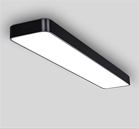 miaoge simple Bureau Couverture le rectangle Éclairage LED Lampes Passage Couloir d'entrée plafond en aluminium 25 * 25 cm 120*20cm