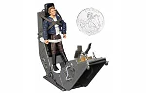 Star Wars 3.75 Basic Figure Han Solo with Torture Rack by Hasbro (English Manual)