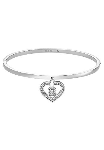 JETTE Silver Damen-Armreif 925er Silber 40 Zirkonia One Size 87544923