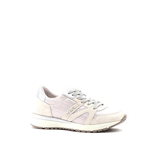 Sneaker donna modello running Cafè Noir EA912 off-white (41)