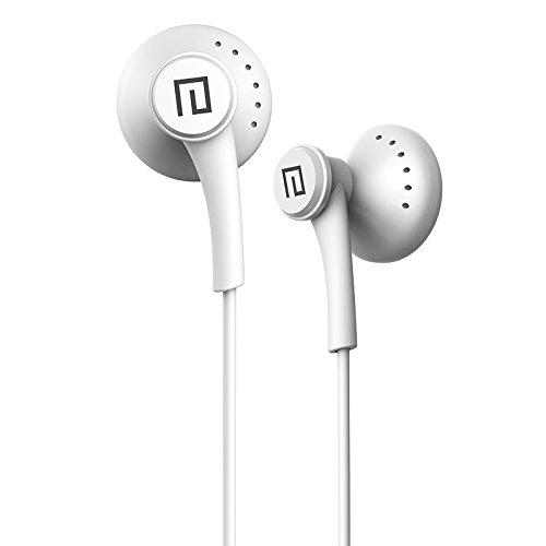 Langsdom Auricolare, Ollivan Langsdom T16 Auricolare Cuffia auricolari In Ear Noise Cancelling HIFI basso pesante stereo per iPhone Samsung Xiaomi Phone Tablet PC MP3 MP4 (Bianca)