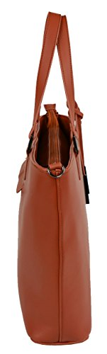 Urban Country-Borsa Messenger, Marrone (Beige) - UCB0030103 Mattone