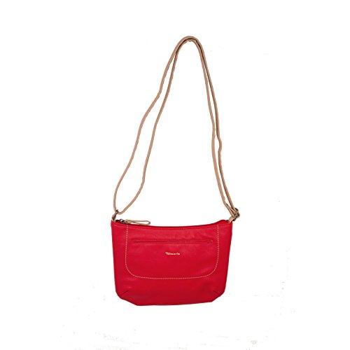 Tamaris - Pauline Crossbody Bag, Borsa a tracolla Donna Rosso (Rot)