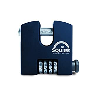 Henry Squire SHCB High Security Recodable Combination Block Lock 4 Wheel Padlocks, 65 mm (Length) x 19 mm (Width)
