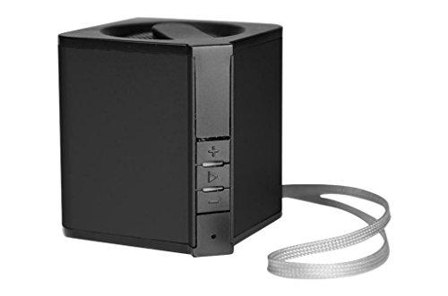 SOUND2GO MUSIC 55 FM - Bluetooth 3.0  Lautsprecher mit NFC-Technologie, USB OTG, Bluetooth-Adapter, Freisprecheinrichtung und FM-Radio - schwarz
