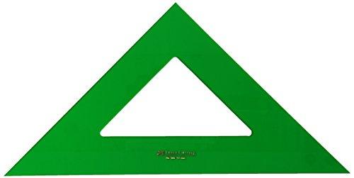 Faber-Castell 566 - Escuadra de 32 cm, color verde