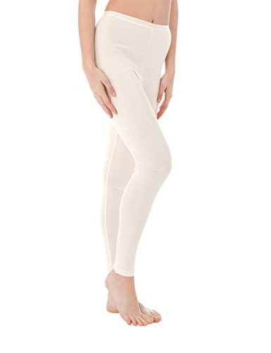 Calida Damen Thermounterwäsche-Unterteil True Confidence Leggings, Weiß (Cream White 892), 38 (Herstellergröße: M)