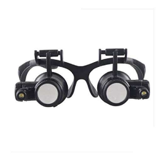 High-Power-Brille am Kopf Lupe HD LED mit
