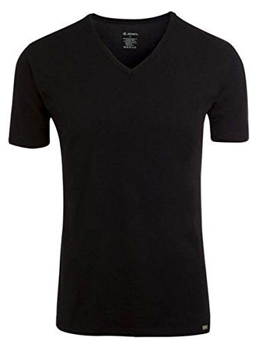 Jockey® Herren, Modern Stretch V-Shirt, kurzarm, 22451813 Black