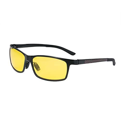 Aroncent Polarisiert Sonnenbrille, Outdoor Sunglasses Sport Brille UV 400 Radbrille für Skilaufen Golf Radfahren Laufen Angeln Baseball