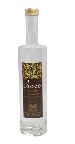Dörlemanns Schokoladenlikör Choco Praline 0,5l (Schnaps-pralinen)
