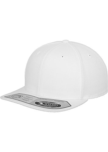 Flexfit - 110 Fitted Snapback Casquette (White)