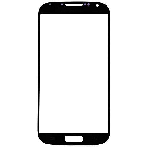 ixuan für Samsung Galaxy S4 i9500 i9505 i337 i545 Frontglas Front Glas Glass Displayglas Schwarz ( Ohne Touch und Ohne LCD ) Ersatzteile (I337 Lcd)