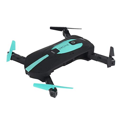 Jun YI Toys JY018 Plegable Selfie Pocket Drone 3D-Flip 2.4GHz WiFi FPV 2.0MP ToGames-ES