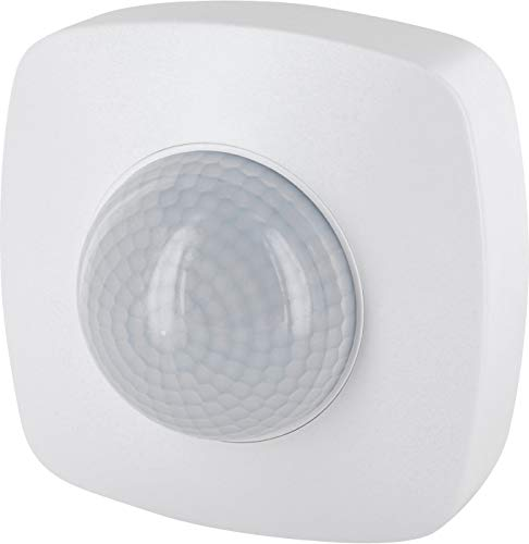 Aufputz Infrarot Bewegungsmelder 360° IP65 230V - mit Dämmerungssensor - für Aussen und Feuchtraum - Reichweite 20m - LED geeignet ab 1W-2000W - Format-sensor