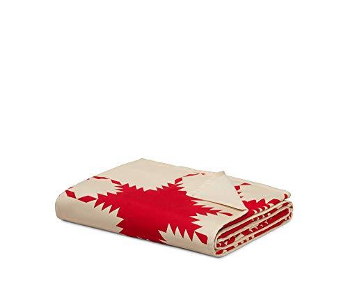 Calvin Klein Home Vintage Reproduction, Throw Red Calvin Quilt