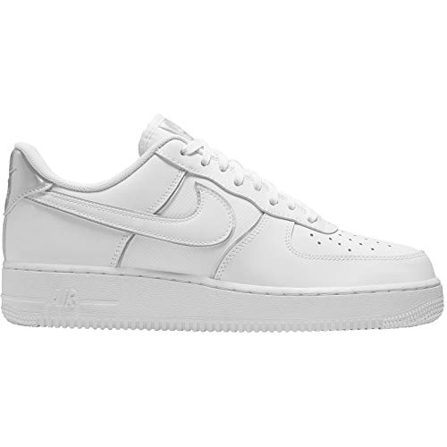 Nike Air Force 1 '07 Lv8 4 Scarpe da Basket Uomo, Bianco (White 100) 43 EU