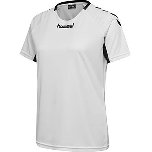 Frauen-fußball-trikot (hummel Damen CORE Team Jersey S/S Trikot, Weiß, S)