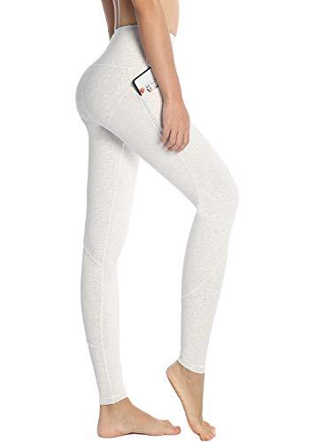 6e57f3fdc15777 Munvot Sport Leggings Damen mit Taschen lang Sporthose Yogahose Laufhose  Tights Fitnesshose Yoga Leggings für Damen