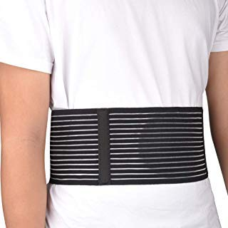VEDA Nabel-Bandage mit Leistenbruch - für Damen und Herren - Bauch Leistenbruch-Bindemittel für Bauchnabelbruch, hilft Schmerzen zu lindern - bei zisionaler, epigastrischer, venirdischer und inguinal - Bindemittel Für Bauch Xl Frauen