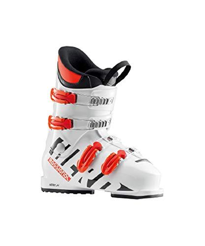 Rossignol Hero J4 Skischuh Junior, Unisex Kinder, Unisex-Kinder, RBH5050, Weiß (White), 235
